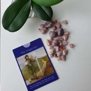 The Magician Tarot Card by  Doreen Virtue & Radleigh Valentine