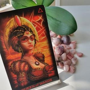 Ciro Marchetti Queen of Wands Tarot Card