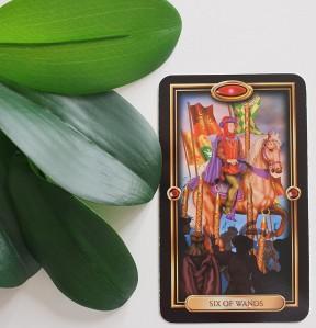 6 of Wands The Tarot Way Tarot Readings Image Ciro Marchetti