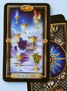 7 of Cups Tarot card Tarot readings at The Tarot Way Image courtesy of Ciro Marchetti
